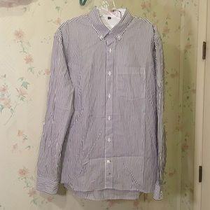 Apolis Striped Button Down Shirt